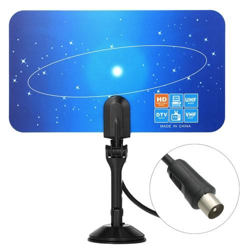 屋内デジタルテレビアンテナPAL標準1080pアナログVHF / UHFデジタル信号IECコネクタ(HDTV / DTVのみ)ベトナムマレーシアシンガポールインドネシア