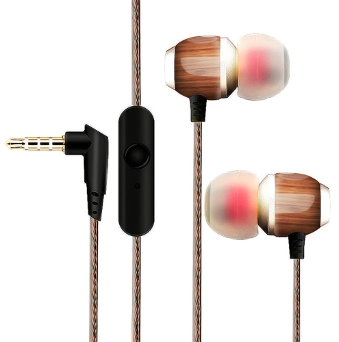 M300 In-ear Wood Headphones with MicrophoneVideo &amp; Audio<br>M300 In-ear Wood Headphones with Microphone<br>