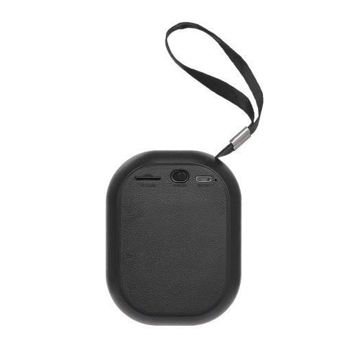 Наружный мини-сабвуфер BT Сабвуфер Аудио BT Звуковая коробка с пряжкой и строчкой Hands-free FM TF Card Slot Line-in