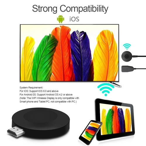 G2se Wireless WiFi Display Dongle Receiver 1080P HD TV Stick Miracast Airplay DLNA for Android iOS Smart Phone Tablet PC to HDTV PVideo &amp; Audio<br>G2se Wireless WiFi Display Dongle Receiver 1080P HD TV Stick Miracast Airplay DLNA for Android iOS Smart Phone Tablet PC to HDTV P<br>