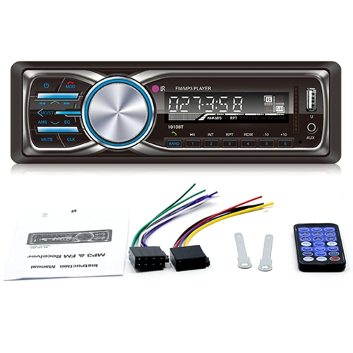 RS-1010BT 1 Din Bluetooth Vehicle Car MP3 Player Stereo Audio Player with FM Radio AUX SD Card U Disk Play LCD Display Remote ContVideo &amp; Audio<br>RS-1010BT 1 Din Bluetooth Vehicle Car MP3 Player Stereo Audio Player with FM Radio AUX SD Card U Disk Play LCD Display Remote Cont<br>