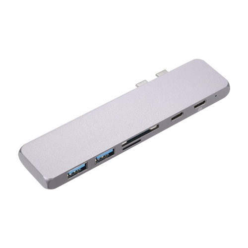 Portas duplas Adaptador USB 4K Thunderbolt 3 USB Type-C Hub