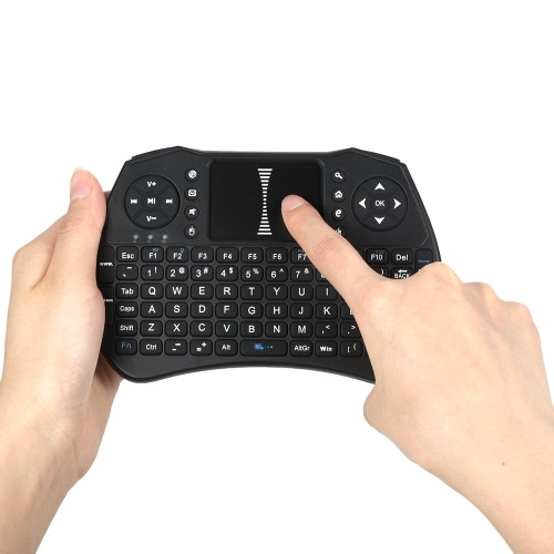 Backlit 2.4GHz Wireless Keyboard Air Mouse Touchpad Handheld Remote ControlVideo &amp; Audio<br>Backlit 2.4GHz Wireless Keyboard Air Mouse Touchpad Handheld Remote Control<br>