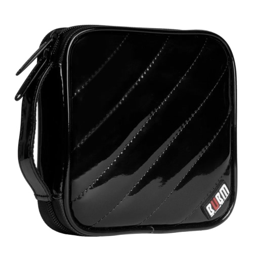 BUBM CDs/DVDs Storage Bag PU Leather 32 Disc Case CD DVD Wallet with Protecting Pad Storage Organizer Travel CD / DVD Bag BlackVideo &amp; Audio<br>BUBM CDs/DVDs Storage Bag PU Leather 32 Disc Case CD DVD Wallet with Protecting Pad Storage Organizer Travel CD / DVD Bag Black<br>