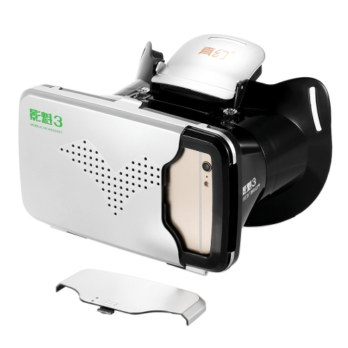 RIEM 3 VR Box Virtual Reality 3D Glasses Movie Game Home Theater 3D Helmet Head-mounted Black for iPhone 6S 6 Samsung S6 Note 5 /Video &amp; Audio<br>RIEM 3 VR Box Virtual Reality 3D Glasses Movie Game Home Theater 3D Helmet Head-mounted Black for iPhone 6S 6 Samsung S6 Note 5 /<br>