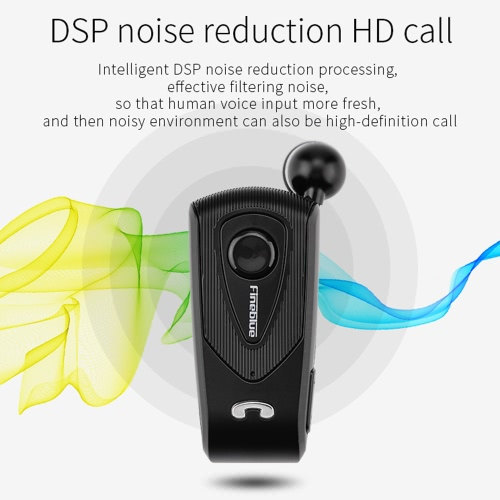Fineblue F930 Clip-on Bluetooth 4.1 Headphones In-ear Cable Retractable Earphone Stereo Music Headsets Hands-free Calling Multi-poVideo &amp; Audio<br>Fineblue F930 Clip-on Bluetooth 4.1 Headphones In-ear Cable Retractable Earphone Stereo Music Headsets Hands-free Calling Multi-po<br>
