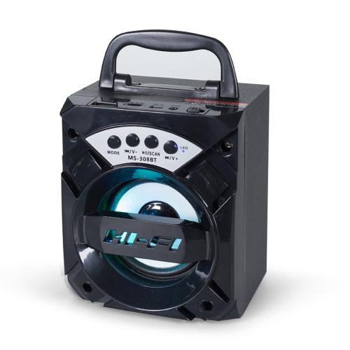 Portable Wireless BT MS-308BT Hi-Fi SpeakerVideo &amp; Audio<br>Portable Wireless BT MS-308BT Hi-Fi Speaker<br>