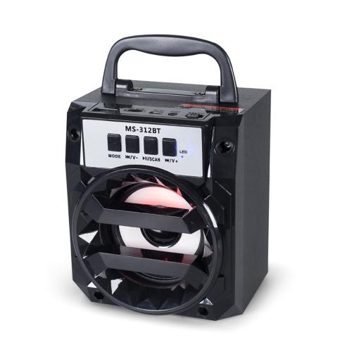 MS-312BT Portable BT Wireless SpeakerVideo &amp; Audio<br>MS-312BT Portable BT Wireless Speaker<br>