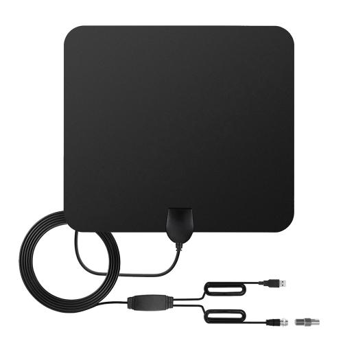 Amplificateur de longue portée de Digital HD 80 milles d'antenne de TV avec le convertisseur d'IEC