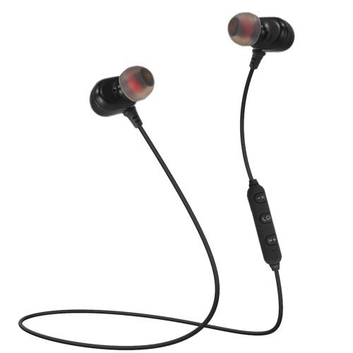 BT 4,2 + EDR fones de ouvido intra-auriculares com microfone
