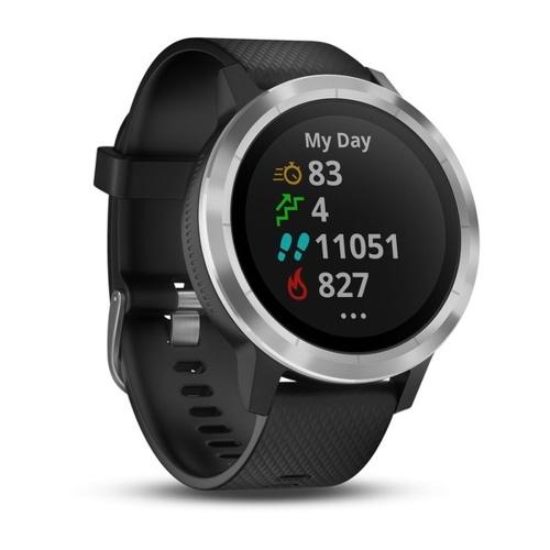 Garmin vivoactive 3 GPS Smartwatch con pagamenti senza contatto e frequenza cardiaca basata sul polso impermeabile