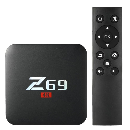Z69 Smart Android 7.1 TV Box Amlogic S905X 2GB / 16GB EU PlugVideo &amp; Audio<br>Z69 Smart Android 7.1 TV Box Amlogic S905X 2GB / 16GB EU Plug<br>