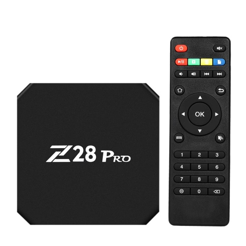 Z28 PRO Smart Android 7.1 TV Box RK3328 Quad Core 64 Bit UHD 4K VP9 H.265 USB3.0 2GB / 16GB Mini PC WiFi LAN HD Media Player EU Plug