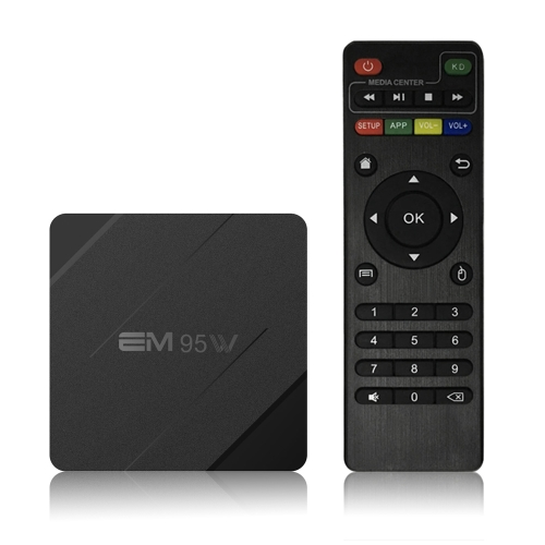 EM95W Android 7.1.2 TV Box Amlogic S905W 1GB / 8GB US PlugVideo &amp; Audio<br>EM95W Android 7.1.2 TV Box Amlogic S905W 1GB / 8GB US Plug<br>