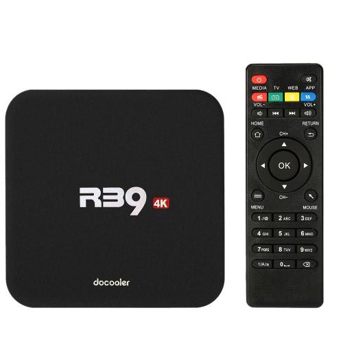 Docooler R39 Smart Android 6.0 TV Box KODI 16.1 RK3229 1G / 8GVideo &amp; Audio<br>Docooler R39 Smart Android 6.0 TV Box KODI 16.1 RK3229 1G / 8G<br>