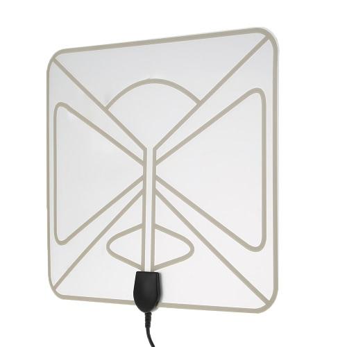 Flat HD TV Amplified Digital Indoor Antenna High Gain HDTV 50 Miles RangeVideo &amp; Audio<br>Flat HD TV Amplified Digital Indoor Antenna High Gain HDTV 50 Miles Range<br>