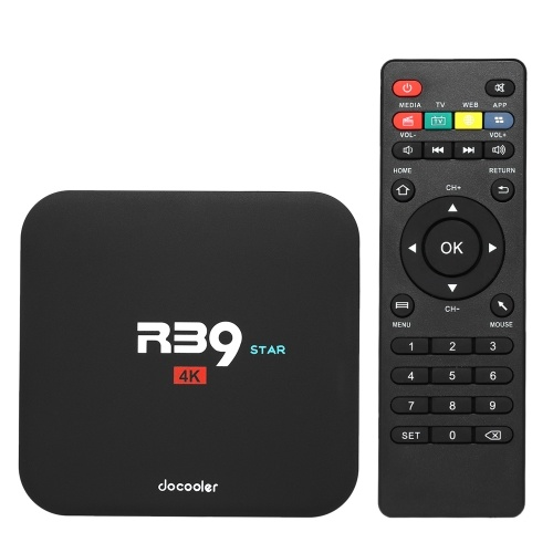 Docooler R39 STAR Android TVボックス2GB / 16GB