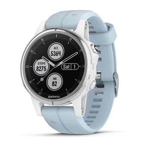 Garmin fēnix 5S Plus GPS Smartwatch mit kontaktlosen Zahlungen und wasserdichtem Handgelenk