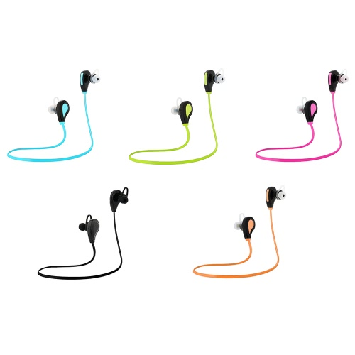 RQ7 Bluetooth Headphone In-ear Stereo Headset Outdoor Sport Music Earphone Hands-free w/ Mic Blue for Running Gym ExerciseVideo &amp; Audio<br>RQ7 Bluetooth Headphone In-ear Stereo Headset Outdoor Sport Music Earphone Hands-free w/ Mic Blue for Running Gym Exercise<br>