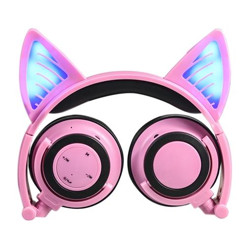 LX-BL108 Wireless Bluetooth Glowing Cat Ear HeadsetVideo &amp; Audio<br>LX-BL108 Wireless Bluetooth Glowing Cat Ear Headset<br>