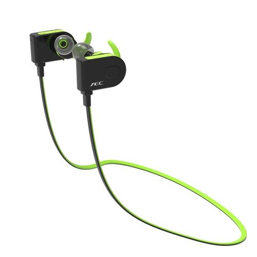 AEC BQ658 Bluetooth 4.1 In-ear Stereo Sweatproof Sport Headphone GreenVideo &amp; Audio<br>AEC BQ658 Bluetooth 4.1 In-ear Stereo Sweatproof Sport Headphone Green<br>