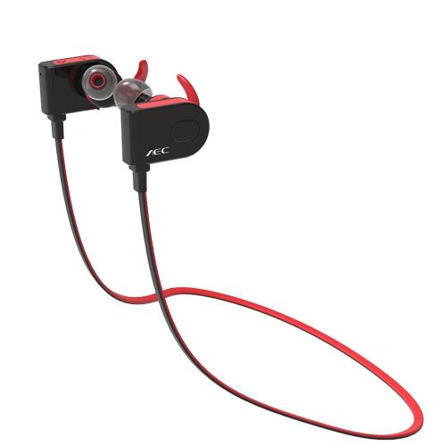 AEC BQ658 Bluetooth 4.1 In-ear Stereo Sweatproof Sport Headphone RedVideo &amp; Audio<br>AEC BQ658 Bluetooth 4.1 In-ear Stereo Sweatproof Sport Headphone Red<br>