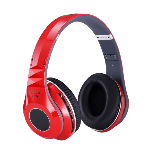 KS770 Wireless Bluetooth Stereo Headphone Over-ear Noise Reduction Headsets Headband Earphones 3.5mm Audio Wired FM Radio TF CardVideo &amp; Audio<br>KS770 Wireless Bluetooth Stereo Headphone Over-ear Noise Reduction Headsets Headband Earphones 3.5mm Audio Wired FM Radio TF Card<br>