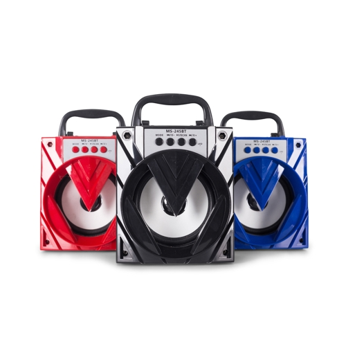 MS-245BT Wireless Speaker Multimedia Music Player 3.5mm Audio BT Speaker with TF/USB/FM Radio for Phones Tablets and other BT-enabVideo &amp; Audio<br>MS-245BT Wireless Speaker Multimedia Music Player 3.5mm Audio BT Speaker with TF/USB/FM Radio for Phones Tablets and other BT-enab<br>