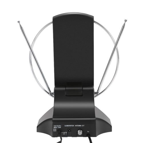LAN-1014 Amplified HDTV Antenna Indoor Digital TV Antenna 50 Mile Range 36dB UHF / VHF / FM Signal with Power Supply for HDTV / DTVideo &amp; Audio<br>LAN-1014 Amplified HDTV Antenna Indoor Digital TV Antenna 50 Mile Range 36dB UHF / VHF / FM Signal with Power Supply for HDTV / DT<br>