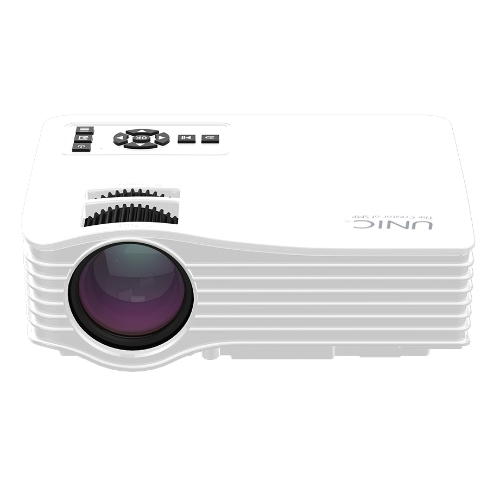 UNIC UC36 LED Projector 1000 Lumens 640 * 480 Pixels HD, AV, USB, SD - White UK PlugVideo &amp; Audio<br>UNIC UC36 LED Projector 1000 Lumens 640 * 480 Pixels HD, AV, USB, SD - White UK Plug<br>