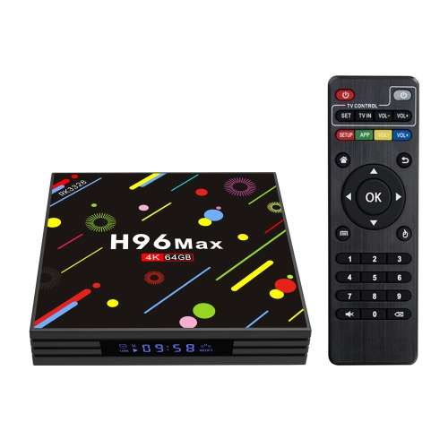 H96 Max-H2 Android 7.1 TV Box 4GB / 64GB 4K HD
