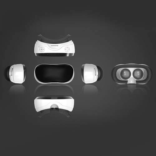 V05 All-in-one Machine Virtual Reality Headset 3D Glasses 90°FOV 5.0Inch 1080p IPS Display Screen Supports 60Hz FPS 2D / 3D / PanoVideo &amp; Audio<br>V05 All-in-one Machine Virtual Reality Headset 3D Glasses 90°FOV 5.0Inch 1080p IPS Display Screen Supports 60Hz FPS 2D / 3D / Pano<br>