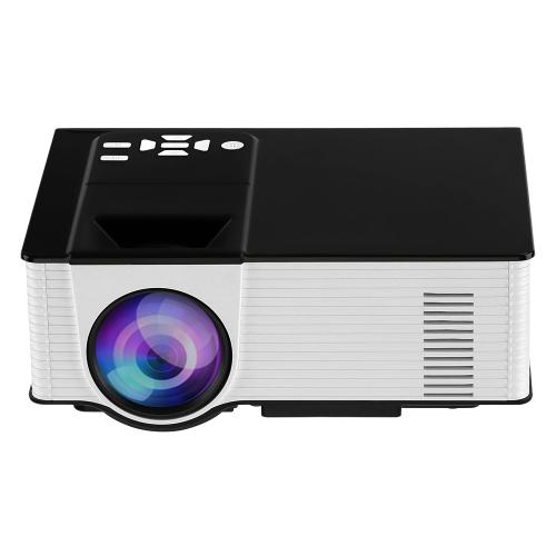 VS314 LED Projector 1500 Lumens Projector 1080P 1200 : 1 USB HD VGA AV - EU Plug Black+WhiteVideo &amp; Audio<br>VS314 LED Projector 1500 Lumens Projector 1080P 1200 : 1 USB HD VGA AV - EU Plug Black+White<br>