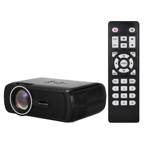 Docooler BL-80 LED LCD Projector 1080P  US PlugVideo &amp; Audio<br>Docooler BL-80 LED LCD Projector 1080P  US Plug<br>