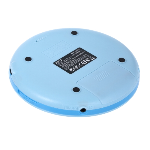 HOTT CD611 CD Player Shockproof Anti Scratch Disc Type CD/CD-R/CD-RW Playable Format CD-DA/MP3/WMA EU PlugVideo &amp; Audio<br>HOTT CD611 CD Player Shockproof Anti Scratch Disc Type CD/CD-R/CD-RW Playable Format CD-DA/MP3/WMA EU Plug<br>