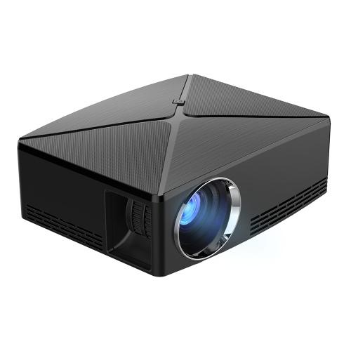 Teatro home 1080P do projetor do LCD do diodo emissor de luz C80