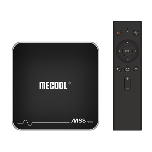 MECOOL M8S PRO+ ATV Android TV Box with 2.4G Voice IR Remote Control