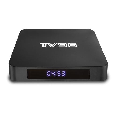 TV96 Android 8.1 TVボックス2GB / 16GB 4K 3D対応EUプラグ
