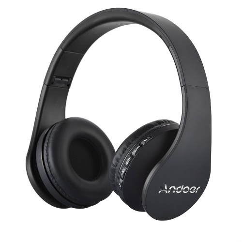 Andoer LH-811 Digital 4 in 1 Multifunctional Wireless Stereo Bluetooth 4.1 + EDR HeadphoneVideo &amp; Audio<br>Andoer LH-811 Digital 4 in 1 Multifunctional Wireless Stereo Bluetooth 4.1 + EDR Headphone<br>
