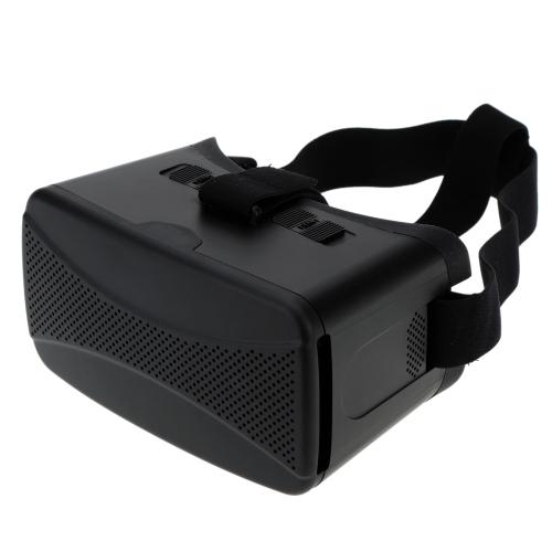 Universal realidade Virtual 3D vídeo óculos Headband com construir-em otários para 4-5.7 em para iPhone Samsung Smartphone