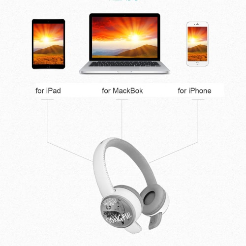 Adjustable Over Ear 3.5mm Aux Earphone Headphones Stereo Music Headset Wired for iPhone Samsung MP3/4 PC Laptop Computer Tablet NoVideo &amp; Audio<br>Adjustable Over Ear 3.5mm Aux Earphone Headphones Stereo Music Headset Wired for iPhone Samsung MP3/4 PC Laptop Computer Tablet No<br>
