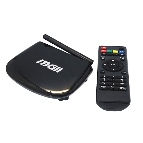 MGII Full HD 1080P Android 4.4 TV Box ARM S805 Quad-Core Cortex-A5 1G / 8G Mini PC XBMC DLNA Miracast AirPlay 2.4G Wi-Fi BluetoothVideo &amp; Audio<br>MGII Full HD 1080P Android 4.4 TV Box ARM S805 Quad-Core Cortex-A5 1G / 8G Mini PC XBMC DLNA Miracast AirPlay 2.4G Wi-Fi Bluetooth<br>