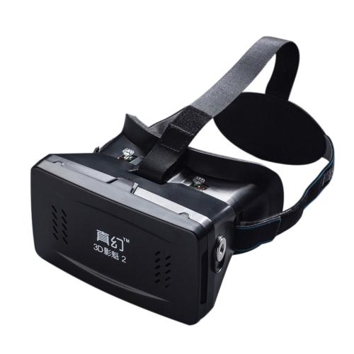 Best-Seller privato 3D occhiali Google cartone Head-mounted VR occhiali virtuale realtà DIY 3D VR Video 3D con occhiali 3D gioco di film interruttore magnetico con CSY-01 Mini multifunzione Wireless BT v 3.0 Selfie fotocamera otturatore Gamepad per iPhone Samsung / All 3.5 ~ 6,0