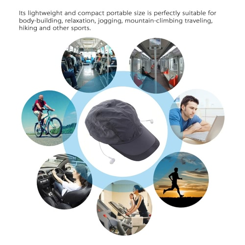 Stylish Bluetooth Music Sun Hat Headphone Popular Bluetooth 4.0 + EDR Stereo Music Hat Earphone Topee Sport Peaked Cap &amp; BluetoothVideo &amp; Audio<br>Stylish Bluetooth Music Sun Hat Headphone Popular Bluetooth 4.0 + EDR Stereo Music Hat Earphone Topee Sport Peaked Cap &amp; Bluetooth<br>