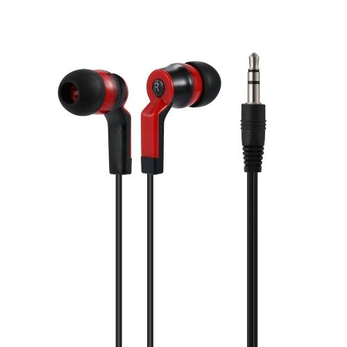 Dans-oreille Binaural casque stéréo 3,5 mm Audio Plug musique bruit annulation Ecouteur iPhone 6 s 6Plus S6, HTC Note 5 6 Samsung MP4 portable Bureau