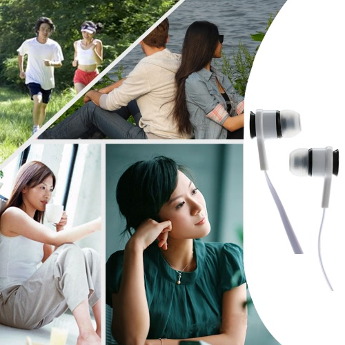 In-ear Binaural Stereo Headset 3.5mm Audio Plug Music Earphone Noise Cancellation  Headphone with Mic  White for iPhone 6S 6Plus 6Video &amp; Audio<br>In-ear Binaural Stereo Headset 3.5mm Audio Plug Music Earphone Noise Cancellation  Headphone with Mic  White for iPhone 6S 6Plus 6<br>