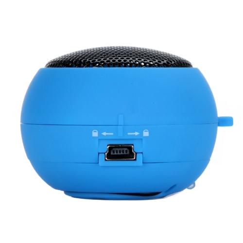 Mini Hamburger Speaker for iPhone iPad iPod Laptop PC MP3 Audio Amplifier BlueVideo &amp; Audio<br>Mini Hamburger Speaker for iPhone iPad iPod Laptop PC MP3 Audio Amplifier Blue<br>