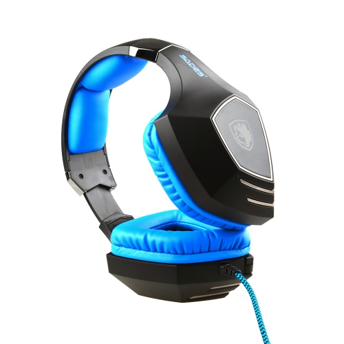 SADES A60 Professional 7.1 Sound USB Vibration Gaming Game Headphone Headset Mic 3 Colors LEDVideo &amp; Audio<br>SADES A60 Professional 7.1 Sound USB Vibration Gaming Game Headphone Headset Mic 3 Colors LED<br>