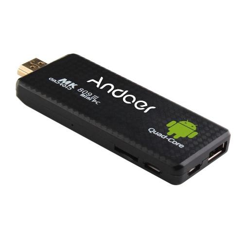 MK809III BT Android 4.4 TV Dongle Stick Mini PC Quad Core Rockchip RK3188T 2G / 8G Wifi XBMC DLAN U.S. Plug