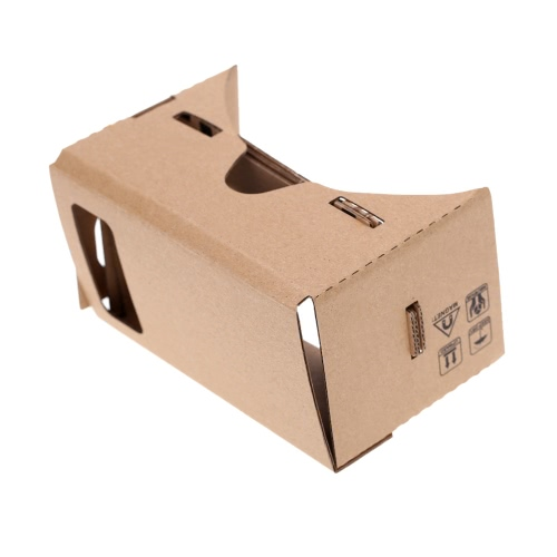 DIY Google Cardboard Virtual reality VR Mobile Phone 3D Glasses with NFC Tag for 5.5 ScreenVideo &amp; Audio<br>DIY Google Cardboard Virtual reality VR Mobile Phone 3D Glasses with NFC Tag for 5.5 Screen<br>